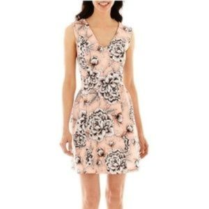 Amazing Colors!!!! Worthington Peach Dress Sz 6